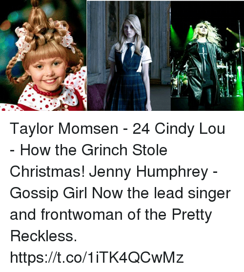 How The Grinch Stole Christmas Cindy Lou Dad.Taylor Momsen 24 Cindy Lou How The Grinch Stole