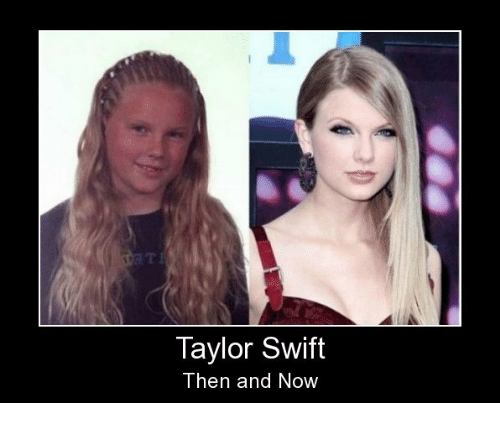 Taylor Swift Then And Now Taylor Swift Meme On Me Me