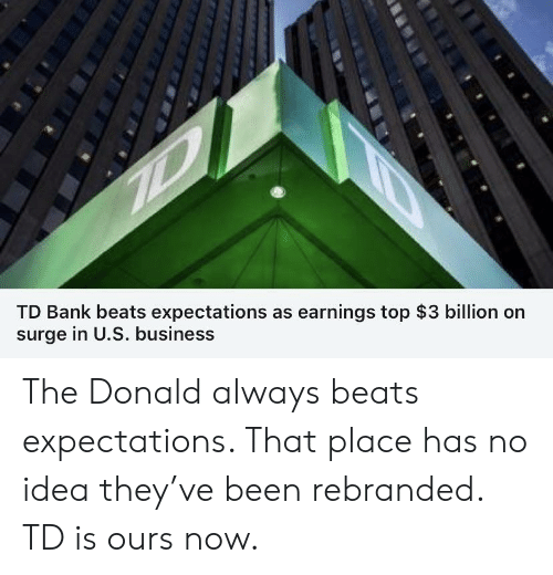TD Bank Beats Expectations as Earnings Top $3 Billion on
