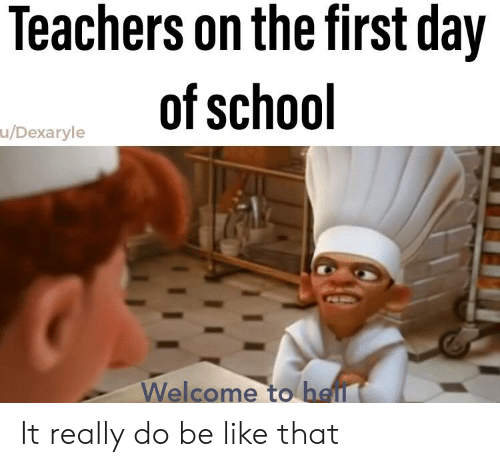 Teachers on the First Day of School uDexaryle Welcome to