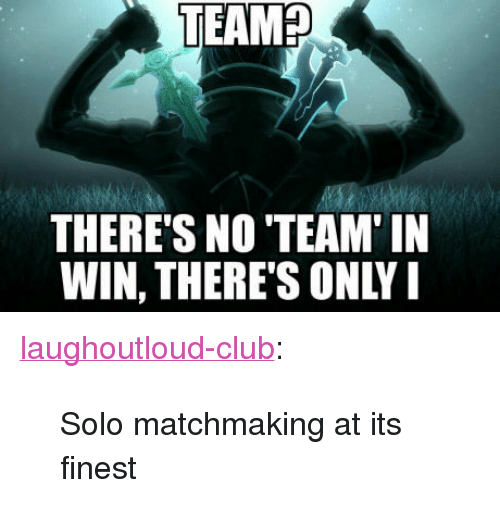 Matchmaking tumblr