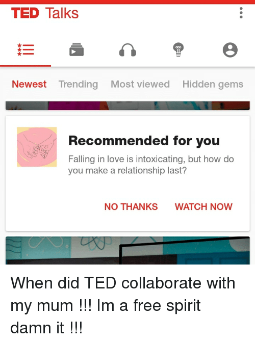 ted talks newest trending most viewed hidden gems recommended for