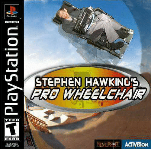 TEEN STEPHEN HAWKING'S WHEELCHAIR ACIIVISION