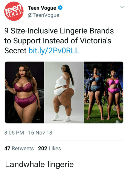 c078f133664 Teen Vogue C 9 Size-Inclusive Lingerie Brands to Support Instead of ...