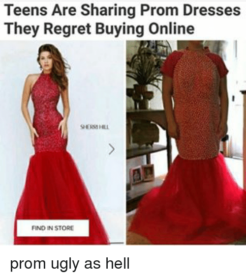 Teens Are Sharing Prom Dresses They Regret Buying Online FIND IN ...