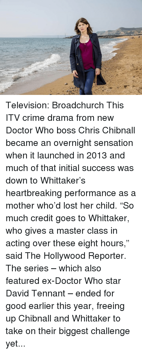 Television Broadchurch This ITV Crime Drama From New Doctor