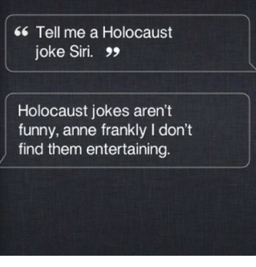 Holocaust Joke