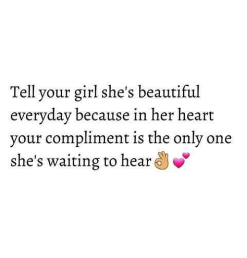 Compliment A Girl On Her Beauty