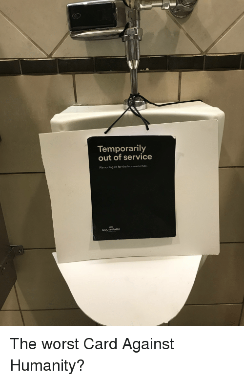 Temporarily Out Of Service We Apologize For The Inconvenience