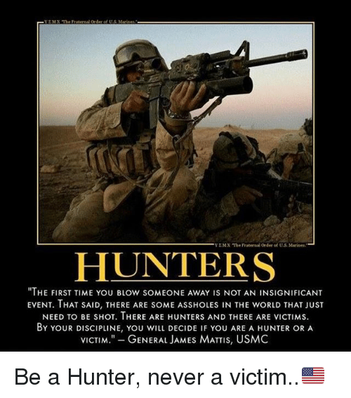 Hunters are assholes