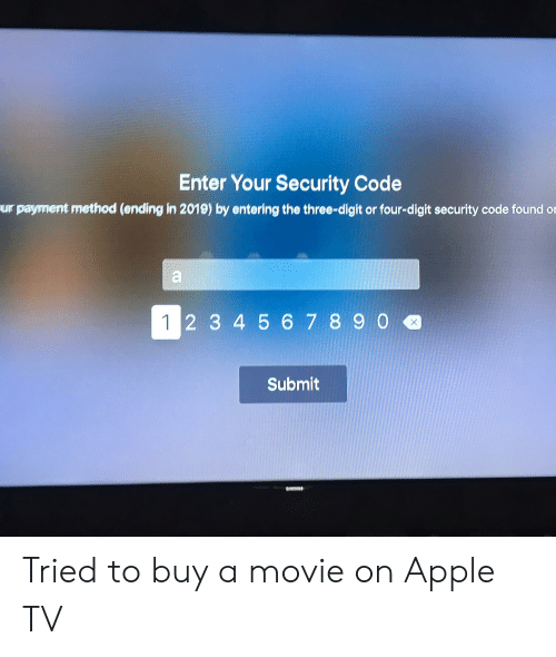 Ter Your Security Code Ur Payment Method Ending in 2019 by Entering