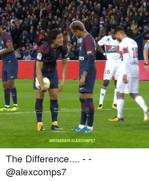 Instagram, Memes, and 🤖: Tes  10  JR  INSTAGRAM/ALEXCOMPS7 The Difference.... - - @alexcomps7