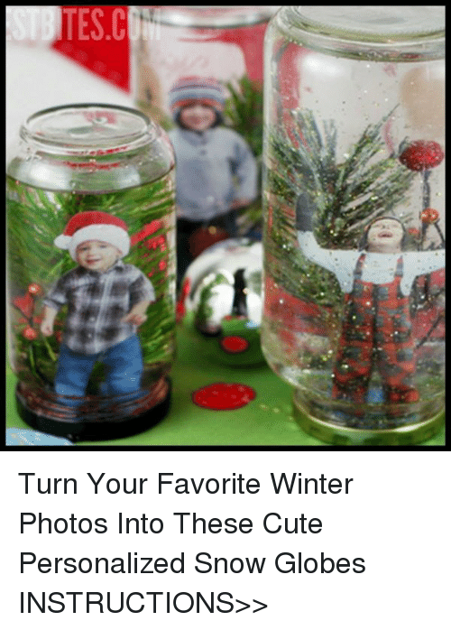Tesc Turn Your Favorite Winter Photos Into These Cute Personalized