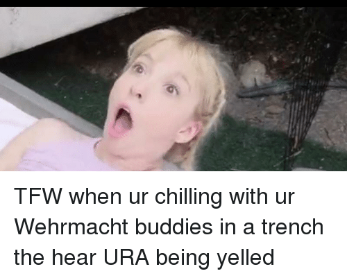 Tfw, History, and Wehrmacht