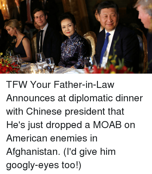 Tfw, Afghanistan, and American