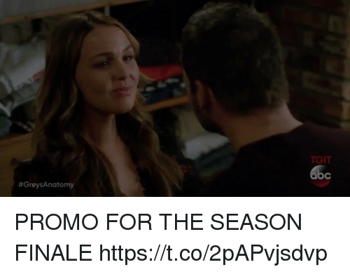 Memes, 🤖, and For: TGIT  PROMO FOR THE SEASON FINALE https://t.co/2pAPvjsdvp