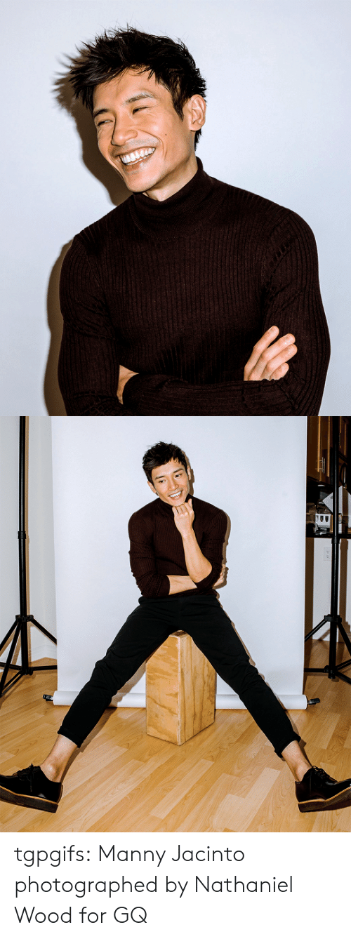 Tumblr, Blog, and Com: tgpgifs: Manny Jacinto photographed by Nathaniel Wood for GQ