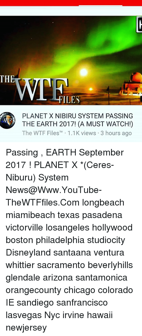 planet x passing earth - photo #44