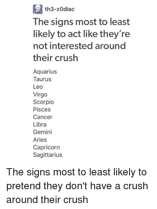 zodiac signs crush