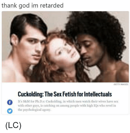 Intellectuals have sex