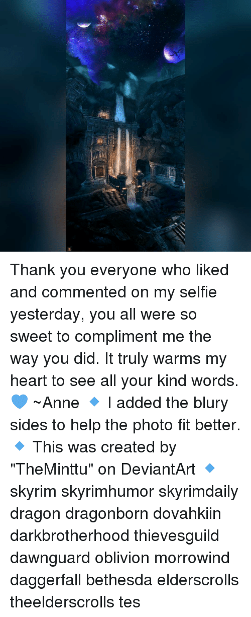 57cfa004f874 Thank You Everyone Who Liked and Commented on My Selfie Yesterday ...