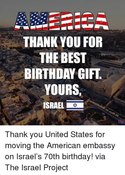 thank you for the best birthday gift yours israel thank 31200175 thank you for the best birthday gift yours israel thank you united