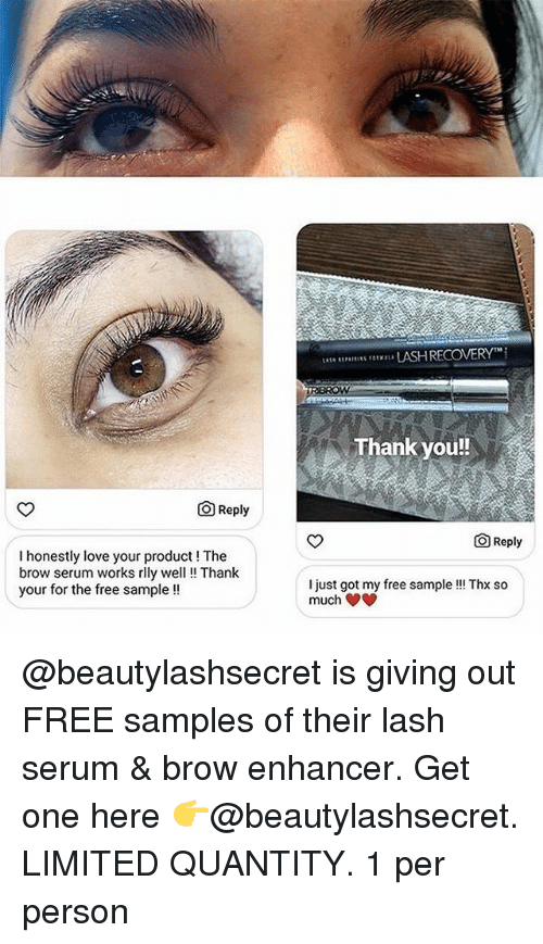 Thank You Reply O Reply I Honestly Love Your Product The Brow