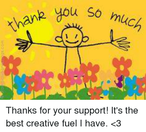 Thank You So Much Thanks for Your Support! It's the Best ...
