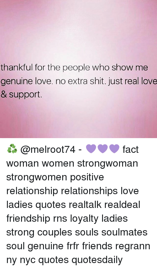 Thankful for the People Who Show Me Genuine Love No Extra ...
