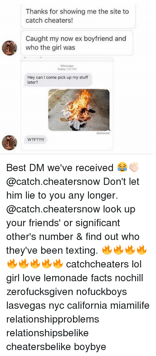 Thanks for Showing Me the Site to Catch Cheaters! Caught My Now Ex
