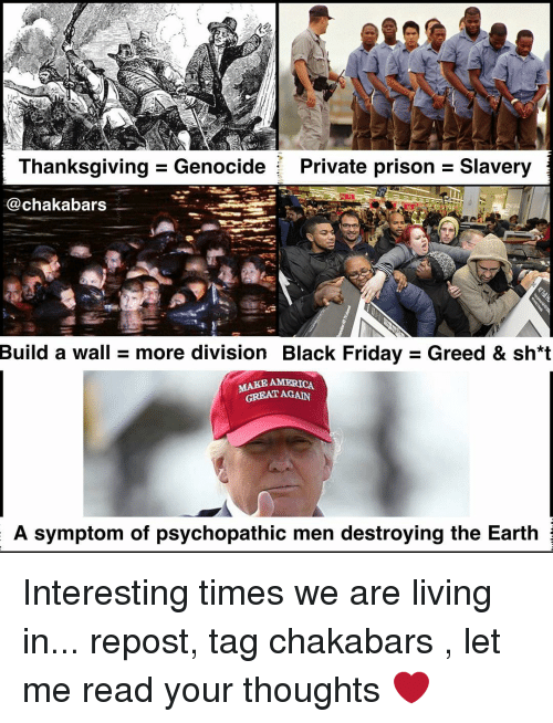 thanksgiving genocide private prison slavery chakabars build a wall more 7235347 ✅ 25 best memes about thanksgiving genocide thanksgiving