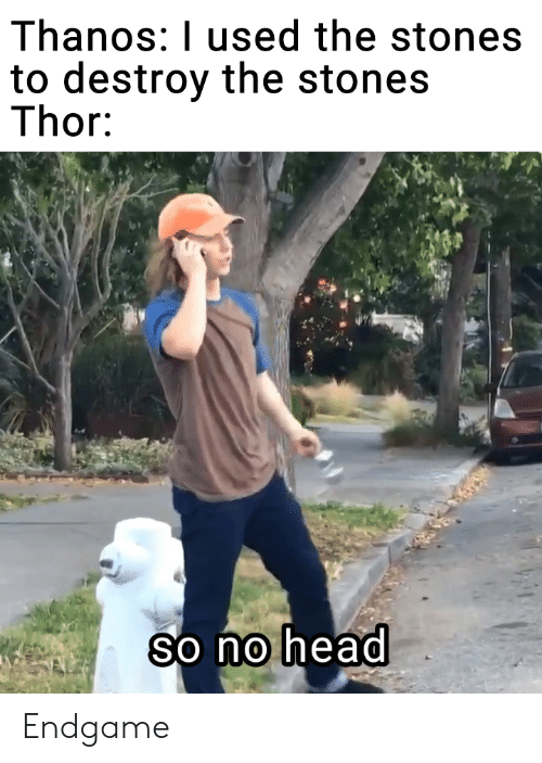 Thanos I Used The Stones To Destroy The Stones Thor 21 0