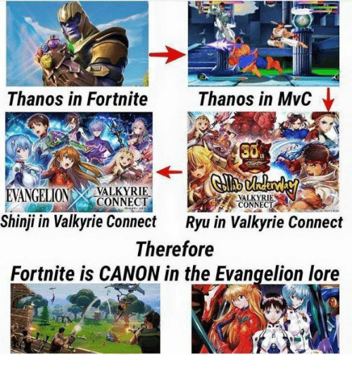 8fd27ecf3768e0 Thanos in Fortnite Thanos in MvC ANGELIONCONNECT VALKYRIE CONNECT ...