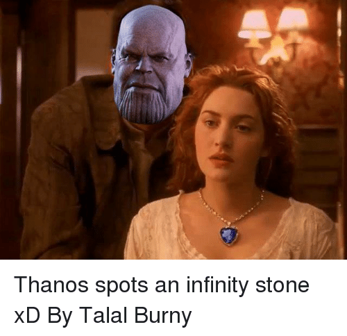 Thanos Spots An Infinity Stone Xd By Talal Burny Meme On Me Me