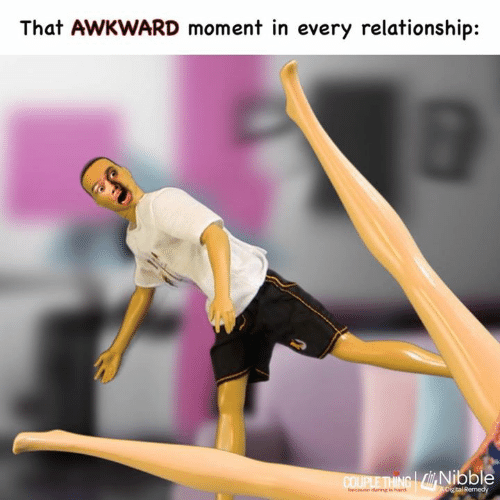 Memes, Awkward, and That Awkward Moment: That AWKWARD moment in every relationship:  Nibble  because danng is hand