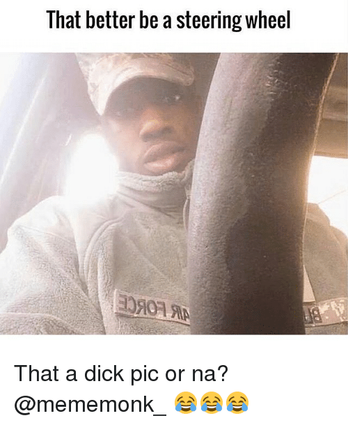 a pic of a dick