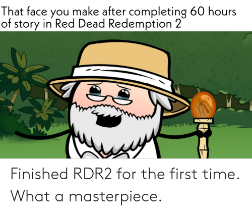 That Face You Make After Completing 60 Hours of Story in Red