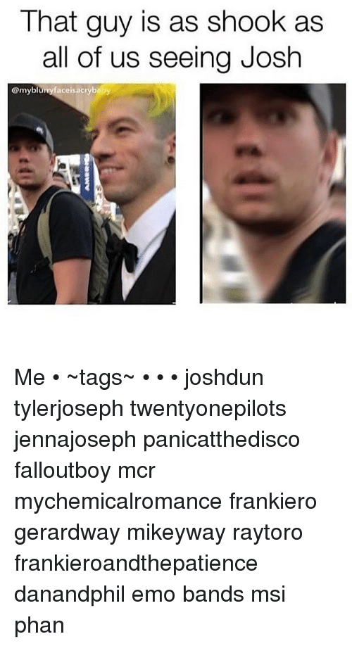 Josh is an emo guy