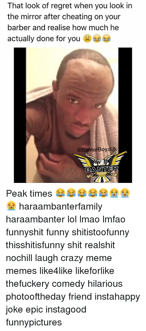 Search Barber, Funny, and LMAO Memes on SIZZLE