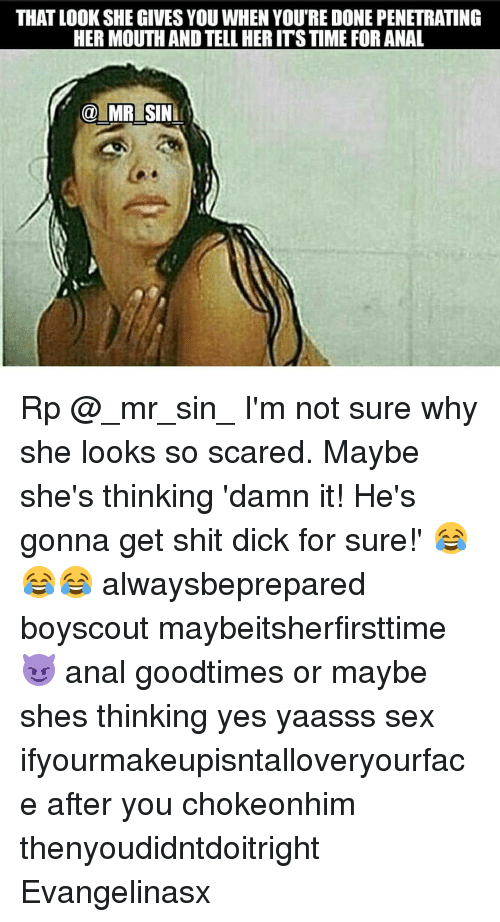 Im scared of anal sex