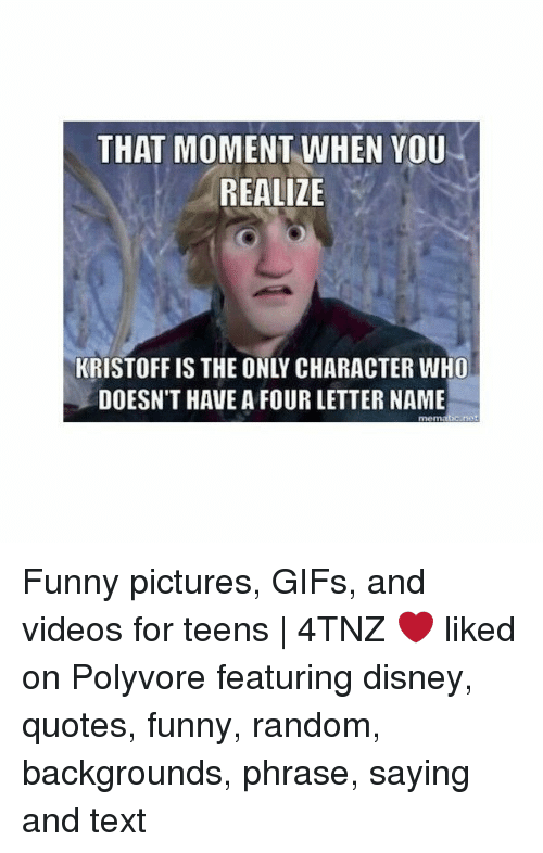 That Moment When You Realize Kristoff Is The Only Character Who
