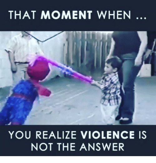 violence is the answer Learn more and get expert advice from common sense media editors on how to handle media violence  does exposure to violent movies or  my answer to this .