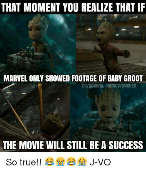 I Am Groot 25+ Best Memes About B...