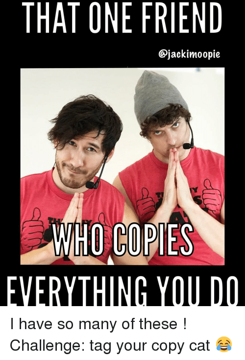 that one friend jackimoopie d hocopies everything you do i 13591692 ✅ 25 best memes about copy cat copy cat memes,Everything I Do I Do It For You Meme