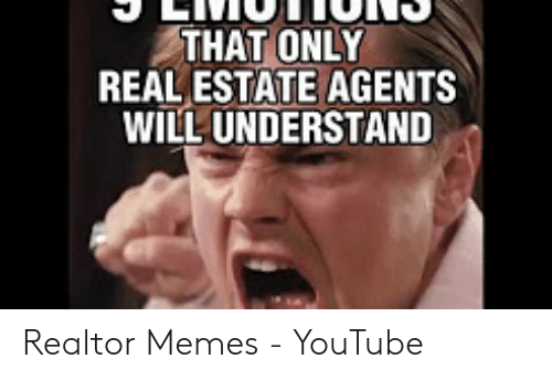 THAT ONLY REAL ESTATE AGENTS WILL UNDERSTAND Realtor Memes