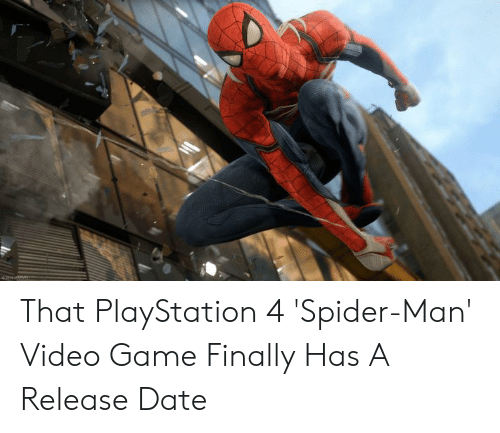 That PlayStation 4 'Spider-Man' Video Game Finally Has a
