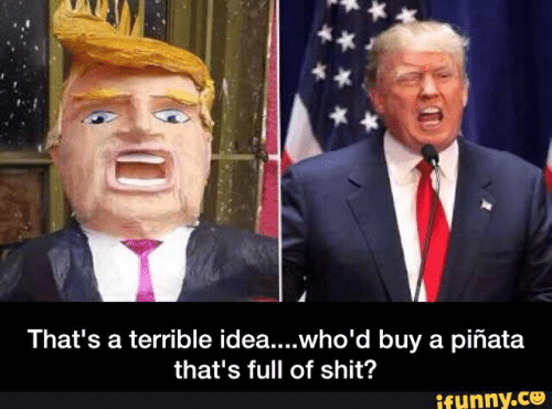 That's a Terrible Ideawho'd Buy a Piñata That's Full of Shit