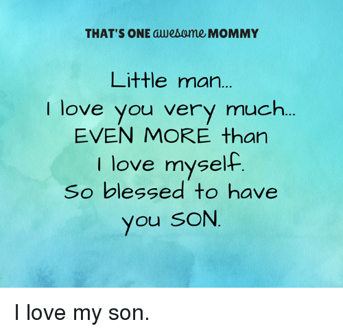 I Love You Son Itb2cstore