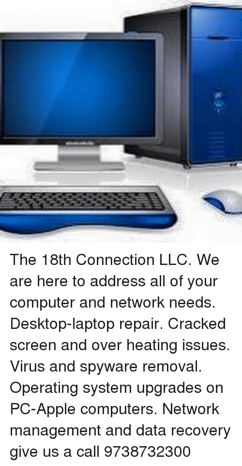 The 18th Connection LLC We Are Here to Address All of Your
