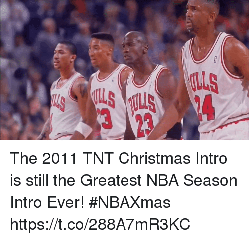 Sizzle: The 2011 TNT Christmas Intro is still the Greatest NBA Season Intro Ever! #NBAXmas https://t.co/288A7mR3KC